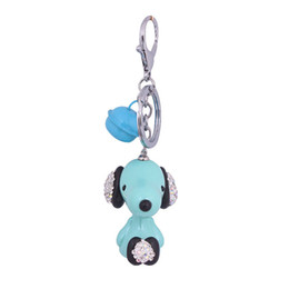$enCountryForm.capitalKeyWord UK - The New Cute cartoon doll puppy figurine Keychain Couple Bags and car pendants Creative Holiday gift wholesale