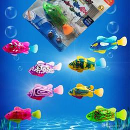 $enCountryForm.capitalKeyWord Australia - Robo Fish Baby Novelty Water Activated Battery Powered RoboFish Toys Childen Kids Electronic Robotic Fish Bath Toys