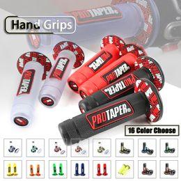"pocket atv 2019 - Universal 7 8"" Motorcycle Bike Cycle Rubber GEL Hand Grip Handlebar Handle Bar Throttle Grips Pocket Mini For ATV D"