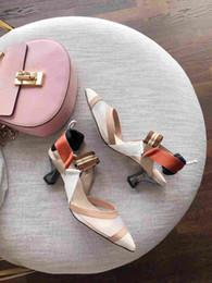 $enCountryForm.capitalKeyWord Australia - 2019 Hot Fashion Luxury Designer women shoes high heels pumps wedding high heels shoes bride two-tone heels talons hauts Women dress shoes