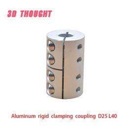 $enCountryForm.capitalKeyWord Australia - D25L40 5 6 6.35 8 10 12mm Aluminum Flexible Shaft Coupler clamping Rigid Coupling Motor Connector D25 L40