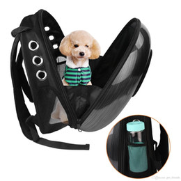 Bags Carry Puppies Australia - Pet Dog Cat Space Carriers Bags Pet Carrying Backpack Window Puppy Small Cat Dog Carrier transport Outdoor Travel Bag Shoulder