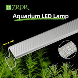 Vente en gros Zrdr aquarium plante pousse lumière lumière une série mini brièvequiner l'aquarium plante de poisson réservoir métal Sunrise coucher de soleil
