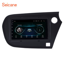 Multimedia Player Camera Australia - 7 inch Android 8.1 Car Multimedia Player for 2009-2016 Honda Insight RHD with Bluetooth Wifi Mirror Link GPS Navi support Rear Camera OBD2