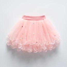 red tutu 2t Australia - Quality candy color kids tutus skirt dance dresses soft tutu dress ballet skirt 3layers children pettiskirt clothes Kids' Party Wear
