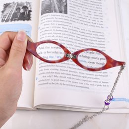 Foldable Readers Australia - Hand-held Reading Glasses Necklaces Camouflage Mini Folding Reader Foldable Presbyopia Hyperopia Glasses Necklaces Long Sweater Chain
