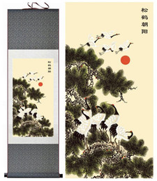 Art Canvas Prints Australia - Birds And Flower Painting Home Office Decoration Chinese Scroll Painting Flower Art Chinese Paintingprinted Painting2019061534