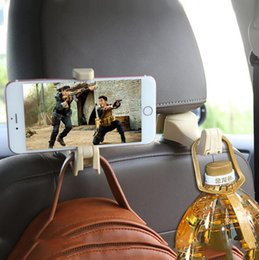 Car Back Hook Australia - Car hidden creative new seat back hook car multi-function rear mobile phone bracket hook