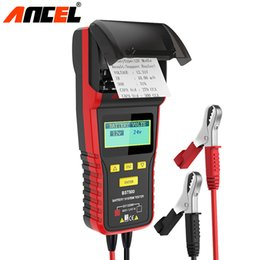$enCountryForm.capitalKeyWord Australia - Ancel BST500 Battery Tester Car 12V 24V Detect Bad Battery Analyzer with Printer for Car Truck Mutil-Language Diagnostic Tool
