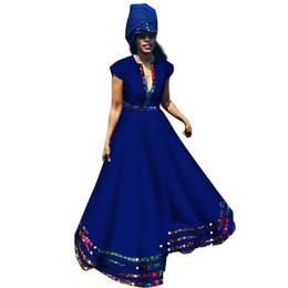 $enCountryForm.capitalKeyWord UK - New african women dress private custom short sleeve maxi dresses for women plus size pure batik cotton fashion style WY2846