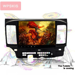 Head unit car online shopping - 2 DIN quot Android Octa Core Car DVD GPS player for Mitsubishi Lancer Stereo Auto Radio Head unit
