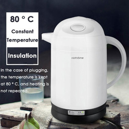 $enCountryForm.capitalKeyWord NZ - Nathome 1.3L Electric Kettle Insulated Safety Child Lock Design Water Boiler 304 Stainless Steel Auto Power-off Kettle Teapot