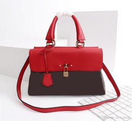 China New luxury fashion designer handbags global Limited Edition copy Steamer designer luxury handbags purses leather High-capacity:M41738 cheap high copy phones suppliers