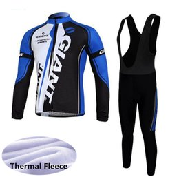 $enCountryForm.capitalKeyWord UK - GIANT team Cycling Winter Thermal Fleece jersey (bib) pants sets Quick Dry Tights Bicycle clothes Sportswear mans D1137