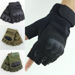 Hunt Gloves Australia - Factory Direct Tactical Gloves Bicycle Riding Sports Shooting Hunting Gloves Rubber Knuckle Outdoor Gloves Free DHL M332Z