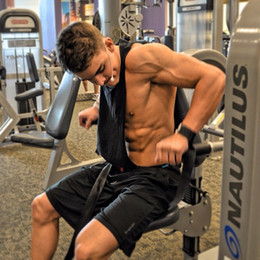 $enCountryForm.capitalKeyWord NZ - Stringer Tank Top Men Bodybuilding Fitness Man Solid Sleeveless golds gyms Vests Cotton Singlets sexy muscle tank Tops shirt #208363