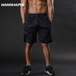 $enCountryForm.capitalKeyWord NZ - Nansha Brand Mens Compression Summer Python Bermuda Gyms Fitness Men Cossfit Bodybuilding Tights Camo Shorts C19042201