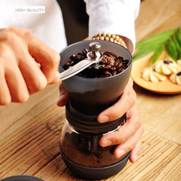 coffee bean espresso Australia - High Quality Manual Ceramic Burr Coffee Grinder Hand Mill Espresso Beans Grinding Machine Coffee Mills Grinder