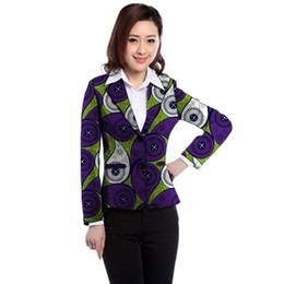 $enCountryForm.capitalKeyWord Australia - African print women's blazers formal outfit traditional African male coat festival custom Ankara suit jacket for women