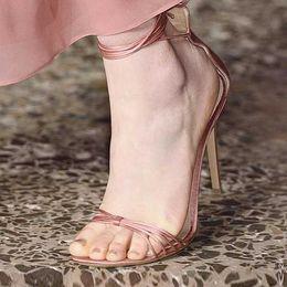 Shoes Flat Fine Australia - Fashion2019 Fashion Latest Sandals Rome Bandage Fine With Women's High-heeled Shoes Go Excellent