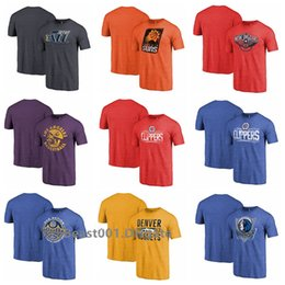 Ingrosso Uomini Fanatici Marchi Jazzs Suns Orleans LA Clippers Branded Nuggets Mavericks Empire Tri-Blend T-Shirt