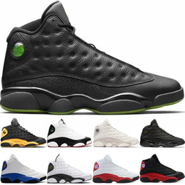 free game soccer NZ - Basketball Shoes 13 13s Men He Got Game Melo Class of 2002 Black Cat Bred Chicago Phantom Sport Sneaker Size 41-47 Free Shipping