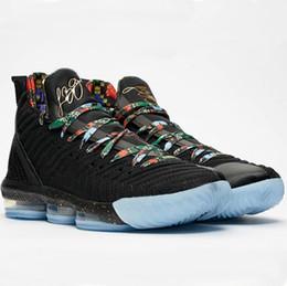 Watch Men Nylon Australia - 2019 New 16 KC Watch The Throne Mens Basketball Shoes 16s XVI Black Metallic Gold Rose Frost Men Designer Sports Sneakers Size 7-12