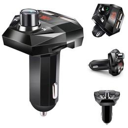 $enCountryForm.capitalKeyWord Australia - Mini Car Kit MP3 Player Car Styling Wireless FM Transmitter Auto FM Bluetooth Modulator Handsfree Support TF USB Music