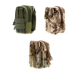 Backpacking Packs NZ - Tactical Molle Pouch Belt Waist Belt Bag Wallet Pouch Purse Outdoor Sport Waist EDC Camping Hiking Pack Phone Case Pocket