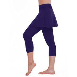 $enCountryForm.capitalKeyWord Australia - KAKA7 2019 New Women High Stretch Fitness Leggings Yoga Pants Sports womens Sport Fitness Skirt Pants Casual Cropped Trousers f3
