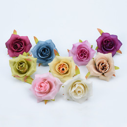 $enCountryForm.capitalKeyWord Australia - Silk roses brooch bridal accessories clearance diy gifts home wedding decor artificial flowers for scrapbook fake flowers wall