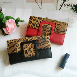 Leopard Coin NZ - Fashion Leopard Women Wallet Long Luxury Solid Coin Purse Credit Card Holder High Quality Clutch Money Bag Wallet High Quality VKP1524