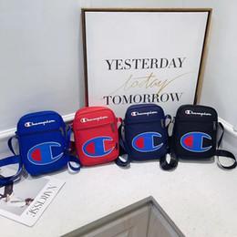 Опт Чемпионы через плечо сумка через плечо Холщовые сумки на одно плечо Сумка-мессенджер унисекс Модные сумки на одно плечо для путешествий Поясная сумка Fanny Pack B3291