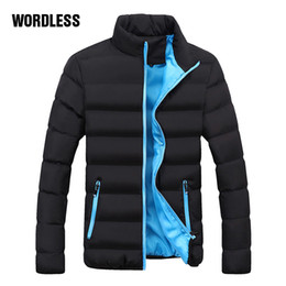 Outdoor Coating Men Australia - New Fashion Winter Casual Jacket Men Thick Coat Mens Brand Masculino Warm Padded Parka Coat Male Thick Outdoor Slim Youth Jacket