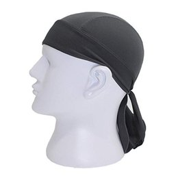 riding hats for men NZ - Cycling Cap Beanie Head Scarf Quick Dry Pirate Hats for Men Women Running Riding Bandana Headscarf Ciclismo Pirate Hat