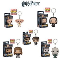 Portachiavi Funko Pop Harry Potter Action Figures Collezione Anime Bambola Giocattoli per bambini Film Anime Portachiavi Portachiavi Kid Toy 100+ design lol in Offerta