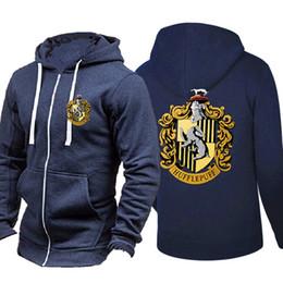 ab0e1c1c16ec Spring Autumn Cardigan Men Hoodies Popular Hip Hop Jacket Harry Potter  Fashion Casual Sweatshirt Sportswear Zipper Coats