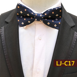 $enCountryForm.capitalKeyWord Australia - 2019 Men's Silk Bow Tie Skull Bowtie for Tuxedo Banquet New Design Black Plaid Dots Ties for Wedding Groom Drop Shipping