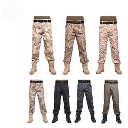 Combat uniform online shopping - Tactical casual swat BDU Combat Uniform long Pants for Airsoft Paintball Soldier Trainer Survival Hunting Fishing Camouflage Trouse