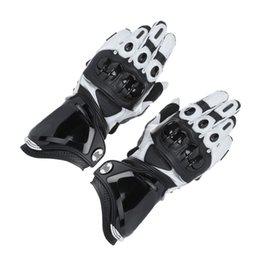 $enCountryForm.capitalKeyWord Australia - 1 Pair Genuine Leather Moto Racing Motorcycle Riding Safety Full Finger Gloves