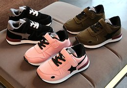 Boys Green Shoes Australia - Spring And Autumn Baby Boy And Girl Sneakers Athletic Shoes Outdoor Shoes Fashion Footwear Sports Cotton Shoes Green+Pink+Black 3Pair