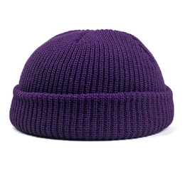 f7d2c9290df84 Beanies For Mens Australia - 2018 Solid Knitted Beanie Winter Hats For Women  Mens Ladies Unisex