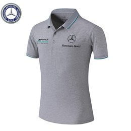 Ways print shirts online shopping - 2019 Car logo T shirt car F1 fashion new T shirt Mercedes AMG logo car way printed T shirt all sizes