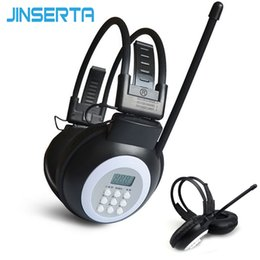 $enCountryForm.capitalKeyWord Australia - Radio JINSERTA Mini FM Radio Wired Headphone with 3.5mm Jack Support Stereo Sound Selection for Large Meeting