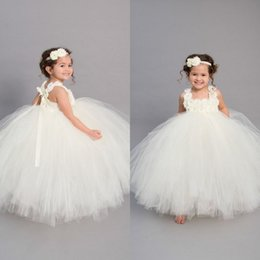 $enCountryForm.capitalKeyWord Australia - 2019 Modest Glitz Toddler Infant Pageant Dresses Tutu Skirt Cute Little Girls Princess Wedding Party Formal Dress