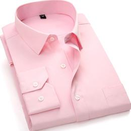 a416e57d5a3 Mens solid color forMal shirts online shopping - 8XL XL XL XL Large Size  Formal men