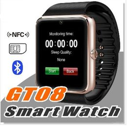 $enCountryForm.capitalKeyWord NZ - DHL Bluetooth Smart Watch GT08 A1 with SIM Card Slot Health Watchs For iPhone 6S Samsung S7 Android IOS Smartphone Bracelet Smartwatch