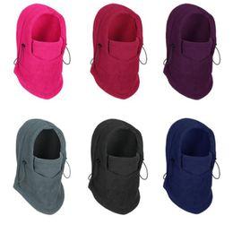 Skull Snowboard Face Mask Australia - Winter warm hat beanies for Men Women skull hats bandana neck warmer ski snowboard face mask Wargame Special Forces Mask outdoor headgear