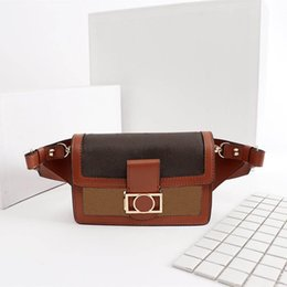 Fashion women chest bag luxury woman pockets newest lady Waist Bags Size 19.5*13 cm model M44393 on Sale