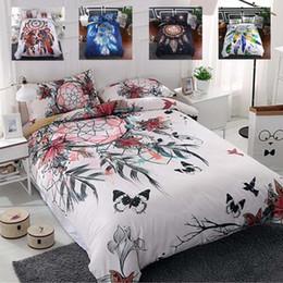 Dreams Bedding Australia - Bedding Set 2 3pcs Family Set Include Bed Sheet Duvet Cover Pillowcase Dream Catcher Duvet Cover Set Room Decoration Bedspread